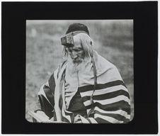 Juifs polonais. [Portrait d'un homme]