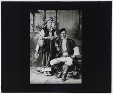 Bulgares [portrait d'un couple]