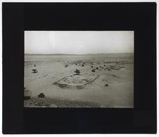 Ruines romaines dans le désert