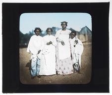 Femmes et enfants malgaches