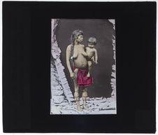 Femme Galibie et son enfant