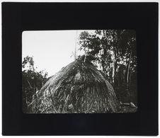 Hutte des indiens du Guapore à l'ouest de Rio Kabexi