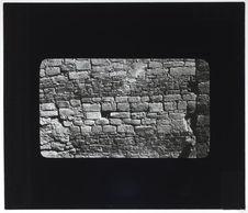 Mur de maçonnerie décorative