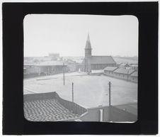 Place et église de Guayacon, près de Coquimbo