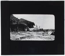 Campement de voyageurs