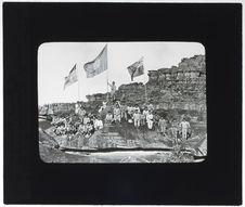 Le Général Rondon et un groupe d'Indiens Taurepans
