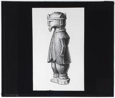 Sculpture sur bois utilisée par le sorcier