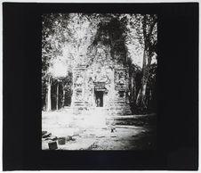 Preihuk. Temple principal du groupe sud après dégagement