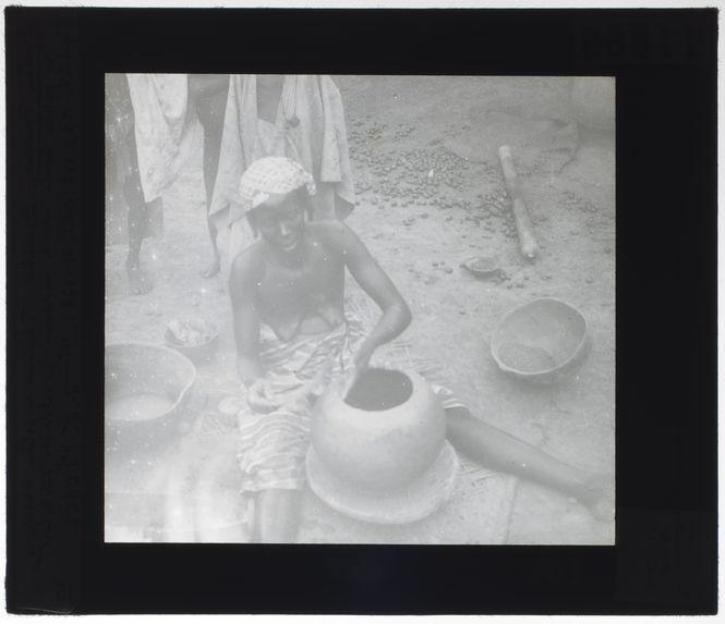 Technique de la potière Wasulu