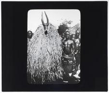 Masque fétiche antilope
