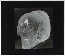 Tête de mort en cristal de roche