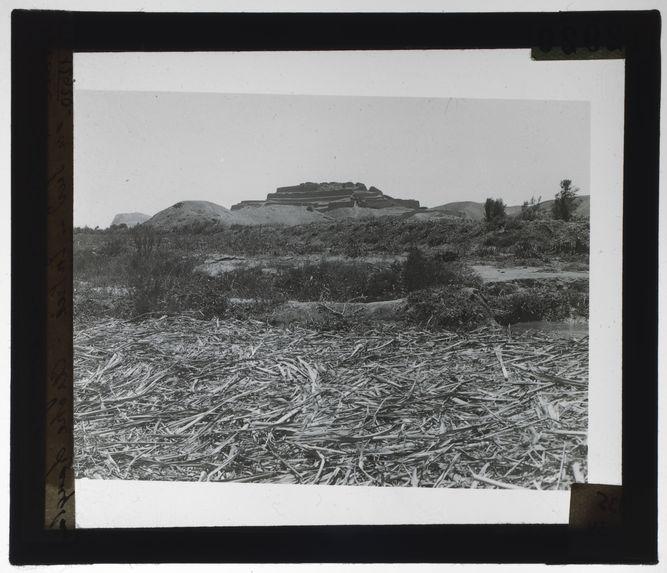 Forteresse de Paramonga vue au sud
