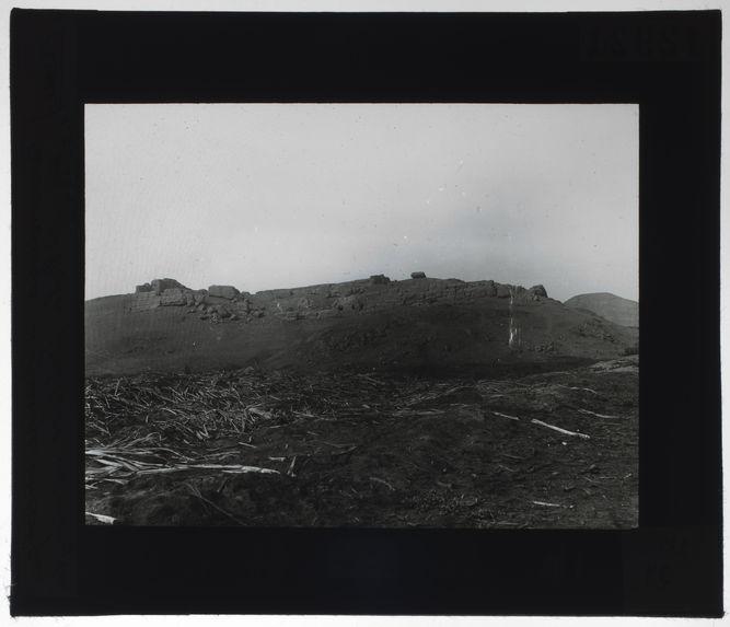 Ruine incaïque au sud de la forteresse