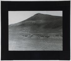 Les ruines au pied du Cerro de la Horca