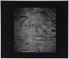 Bas-relief du Bayon. Jongleur