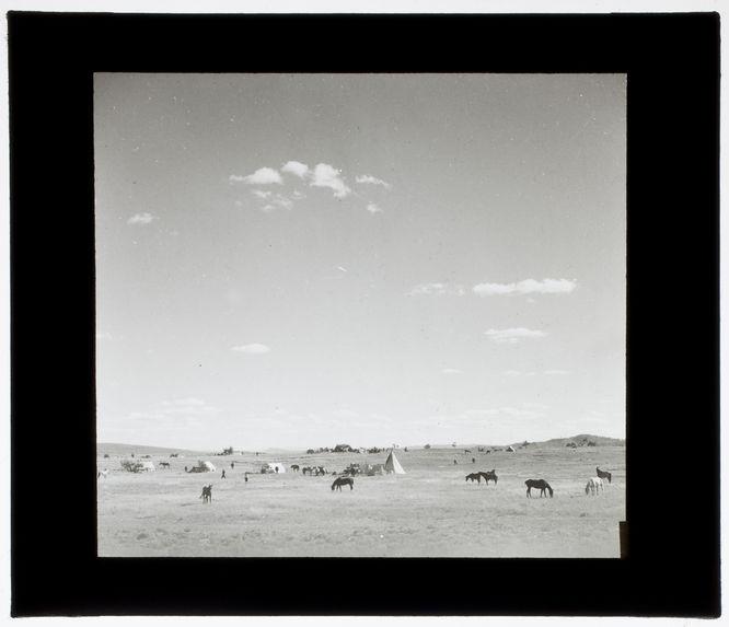 Camp des apaches Jicarilla