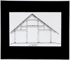 Coupe transversale d'une maison