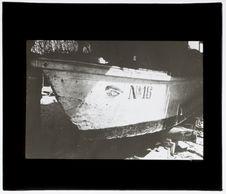 Barque avec œil