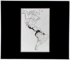 Distribution de la Culture Archaïque en Amérique [carte]