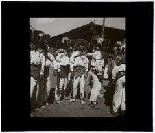 Danseurs otomis à San Pedro