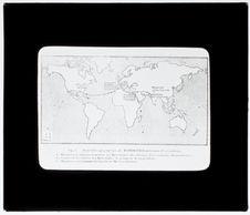 Distribution géographique des mastodontes archaïques