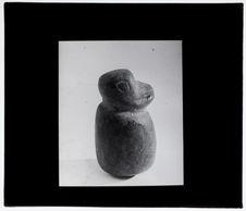 Figurine en pierre Chibcha représentant un singe