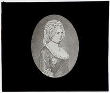 Chevalier d'Eon, habillé en femme