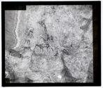 Peintures rupestres : hommes et bœufs