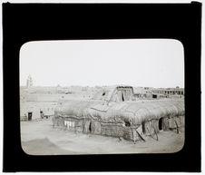 Habitations à l'intérieur du Fort Bonnier