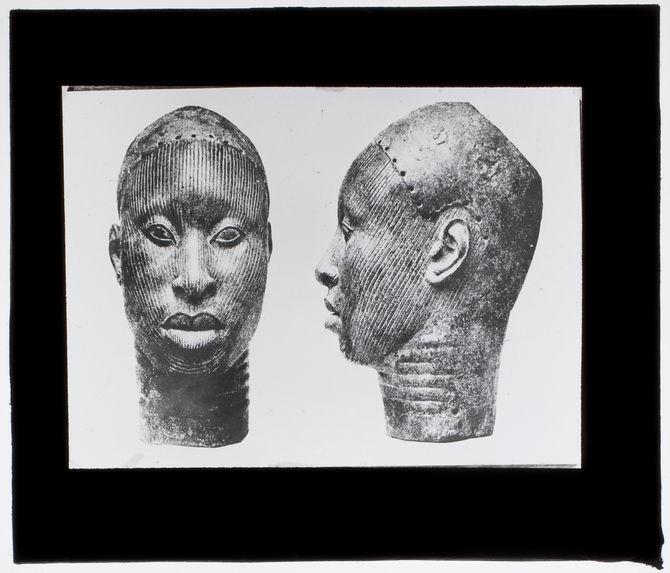 Tête de bronze Ifé