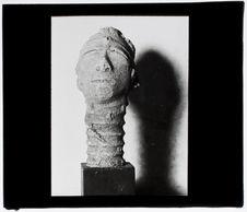 Agni [tête sculptée]