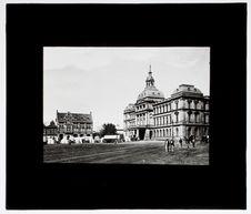 Government buildings and church square, Pretoria