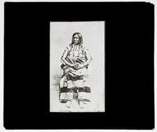 Indien de la tribu des Utes Weber