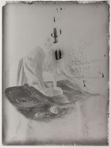 Esclave nègre broyant du millet
