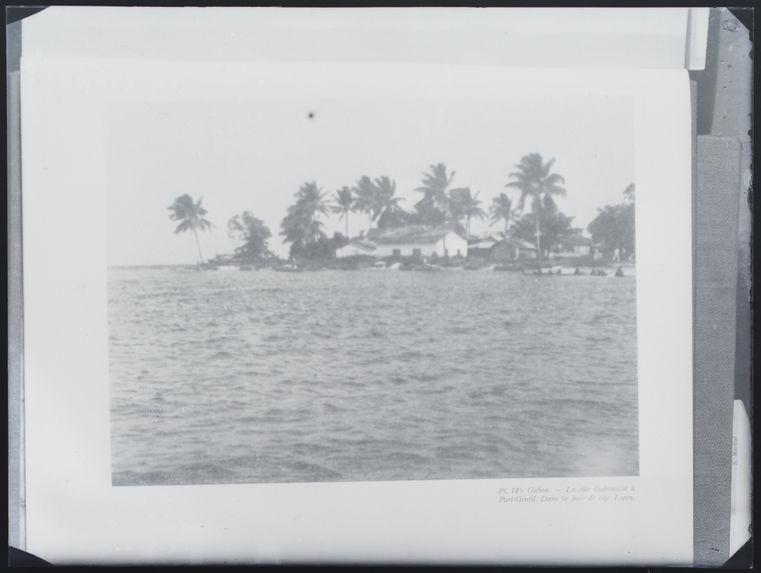 La côte à Port Gentil