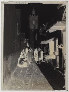 Rues et maisons pittoresques de la casbah