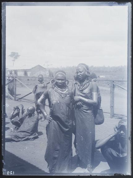 Jeunes filles Kikuyu