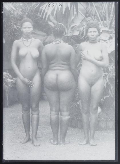Femmes Hottentotes