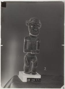 Statuette en craie