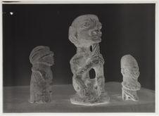Statuettes en pierre Kissi et Sherbro