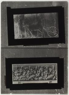 Bige achéménide et course de biges romains