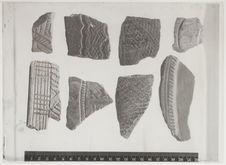 Fragments de céramiques; fouilles Seliquer