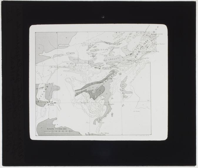 Carte géologique de la région de Colomb-Béchar