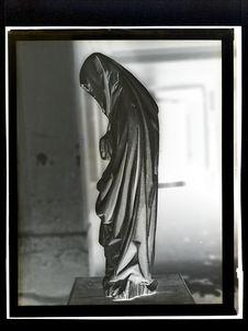 Sans titre [Sculpture représentant Marie]