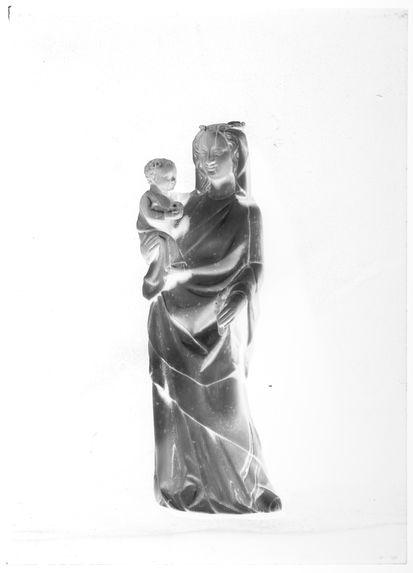 Sans titre [Vierge à l'enfant]
