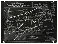 Progrès de la pacification de 1930 à 1932