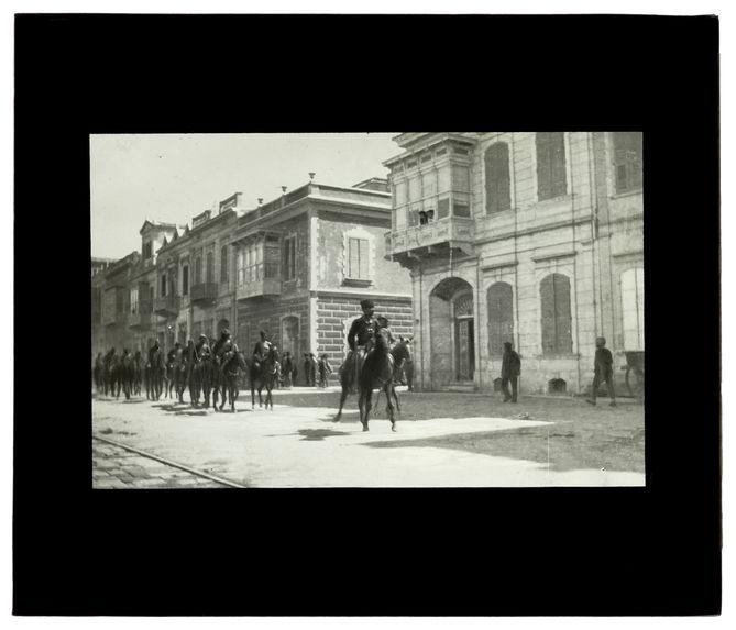 Entrée des troupes turques à Smyrne