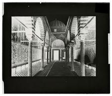 Intérieur de la mosquée du Barbier