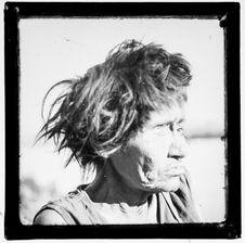 Sans titre [portrait d'une femme Alakaluf]