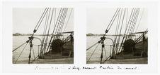 L'Armand Béhic à Suez, devant l'entrée du canal